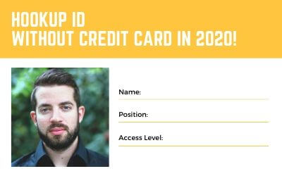 How to get a Hookup ID without credit card in 2020