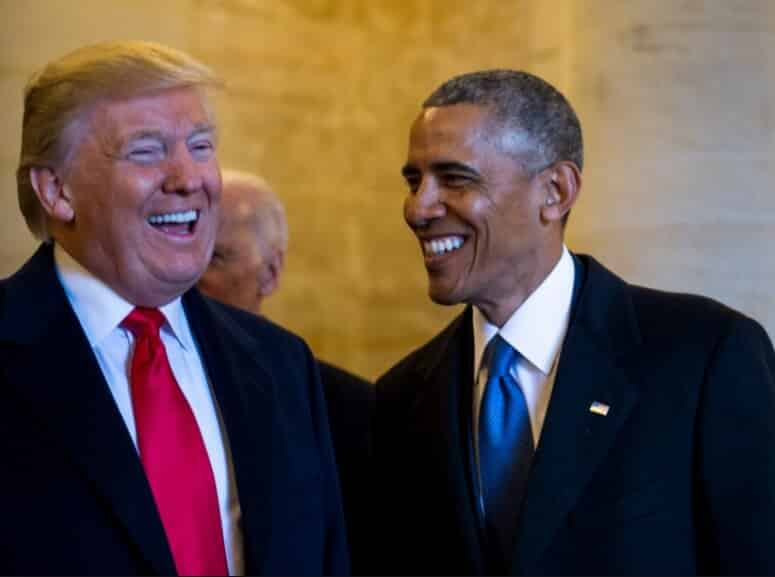 Who caused the growing economy, Barack Obama or Donald Trump