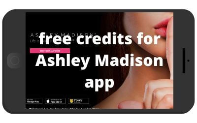 Are there any free credits for Ashley Madison app?