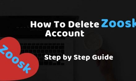 How To Delete Zoosk Account on iPhone & Android & PC & Mac