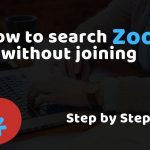 How to Search on Zoosk Without Joining! [2020 Guide]
